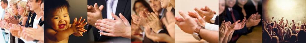 Как правильно пишется слово «аплодисменты»?